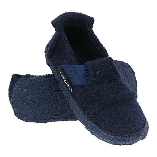 GALLUX - Tolle Hausschuhe Pantoffeln für die ganze Familie Dunkelblau