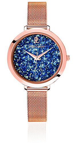 Pierre Lannier Women's Analogue Quartz Watch with Stainless Steel Plated Bracelet – 097M968