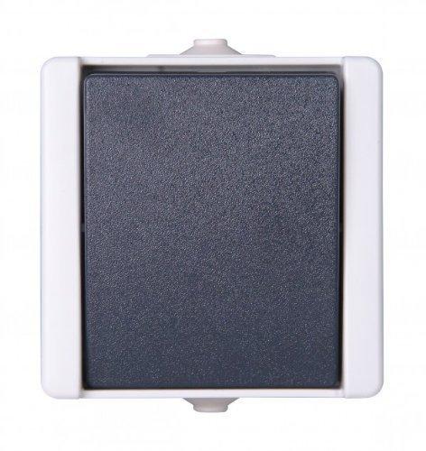 feuchtraum taster aufputz Kopp 540356003 Pro AQA Aufputz-Feuchtraum Schalterprogramm Taster
