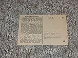 Drucksache Beitragsrechnung auf das 1. Halbjahr 1944