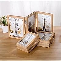 Kalender, Planer Und Karten Schwarz Kreative Holz Rahmen Schaukel Desktop Foto 15x20 Cm