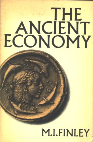 The Ancient Economy: Updated with a New Foreword by Ian Morris (Sather Classical Lectures,)