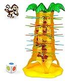 Singe escalade arbre jeu jouet- HOT Chute Chute Singe Famille Jouet (Taille Unique) Escalade Conseil Jeu Enfants