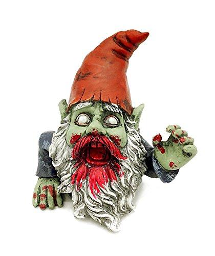 FICITI G150028 Zombie Gartenzwerg Skulptur