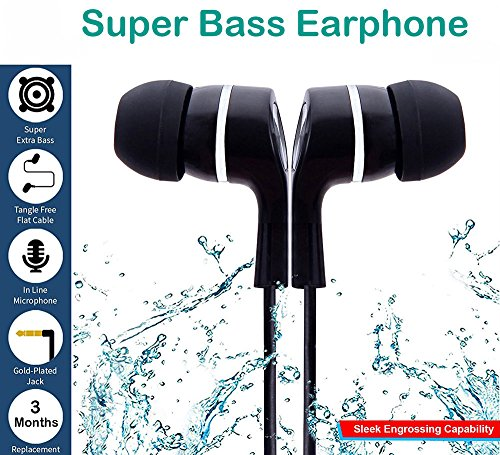 MobileGabbar Mobile Gabbar In-Ear Headphone With Mic Super Extra Bass Earphone With Mic Compatible with Xiaomi redmi 4/ Xiaomi Mi3 / Mi4 / Mi4i / Redmi Note 4 / Redmi Note 3 / Redmi 3s / Redmi 3s Prime / Redmi 2 / Redmi 2s / Redmi 2 Prime / Mi Note 4G / Mi Note 2 / Xiomi Mi Redmi 2S Prime / Xiaomi Redmi 3 S Prime / Xiaomi Redmi 3S Prime / Mi 4 / Mi Note 4 Redmi 4a and all other Xiaomi redmi ear phone