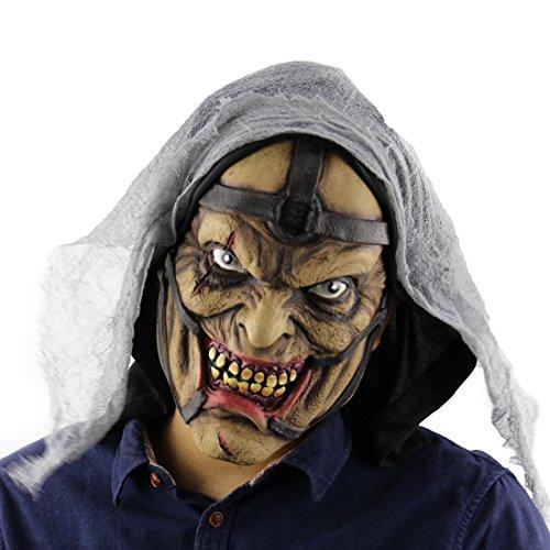 Latex Maske Gruselige Blutige Horror Maske für - Blutige Halloween-maske