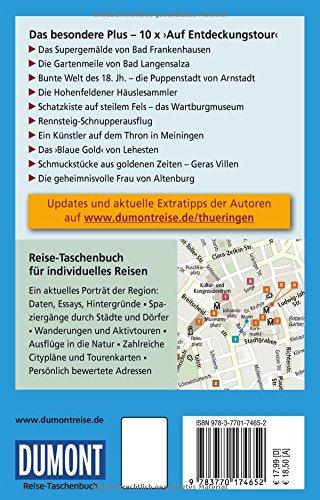 DuMont Reise-Taschenbuch Reiseführer Thüringen: mit Online Updates als Gratis-Download - 2