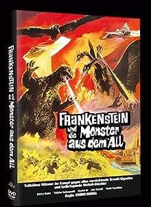 FRANKENSTEIN UND DIE MONSTER AUS DEM ALL - Godzilla, Rodan & Mothra limitierte DVD Hartbox 99 Stk