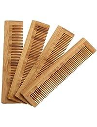 Asin Peine de Masaje Peine de Madera Cepillo de bambú para ventilación de Cabello Cepillos Cuidado del Cabello y masajeador de Belleza