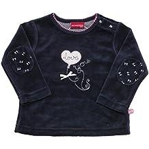 SALT AND PEPPER Baby - Mädchen Sweatshirt Nb Sweat Love Nicki Herz