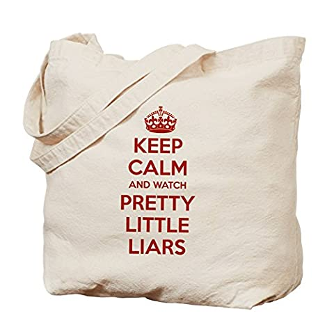 CafePress - Keep Calm And Watch PLL - Natural Canvas