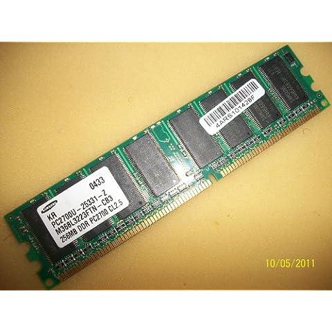 Samsung M368L3223FTN - CB3 256MB 184 P PC2700 CL2, 5 DDR333 RAM/Memory 256 MB