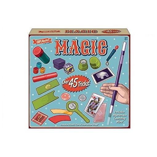 45-Tricks-Zauberei-Set-Kinder-Zauberer-Box-Kreativ-Lernen-Kinder