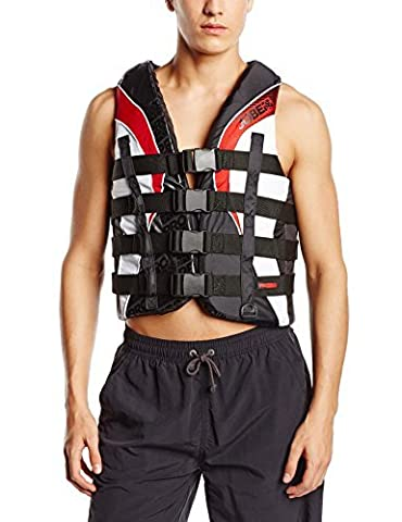 Jobe Progress 4 Buckle Vests - Red, Large by Jobe
