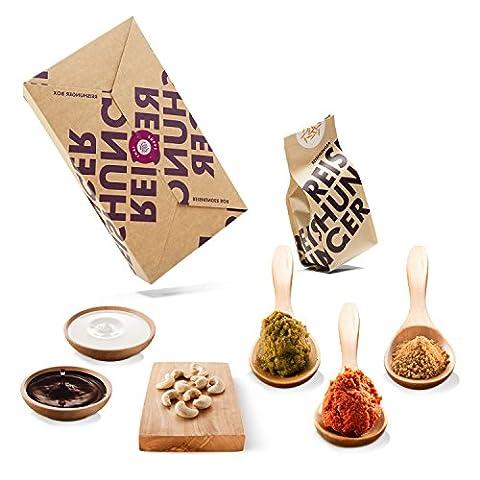 Reishunger Thai Linsensuppen Box - Originalzutaten bester Qualität - Für bis zu 4 Personen - Ideal als