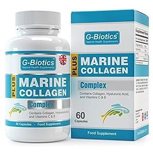 G-Biotics Natürlicher Marine Collagen Komplex ~ EXTRA HOCHWERTIGES Nahrungsergänzungsmittel