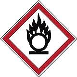Brady PIC 1803-40*40-B7541-CRD Gefahrstoff - GHS Laminierter, Polyester Schild, 40 mm x 40 mm (20-er pack)