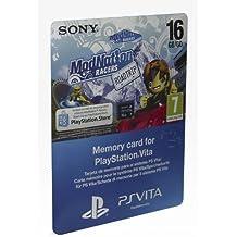 PS Vita - Tarjeta De Memoria De 16 GB + ModNation Racer RT Voucher