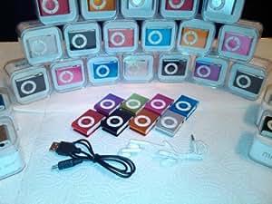 COLT ® stilvoller MP3-Player mit Clip - mit SD-Karte Leser Slot - SCHWARZ