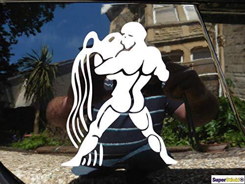 SUPERSTICKI Grieche Römer Amphore Wasser 20cm Aufkleber Sticker Decal aus Hochleistungsfolie Aufkleber Autoaufkleber Tuningaufkleber Racingaufkleber Rennaufkleber von aus Hochleistungsfolie für
