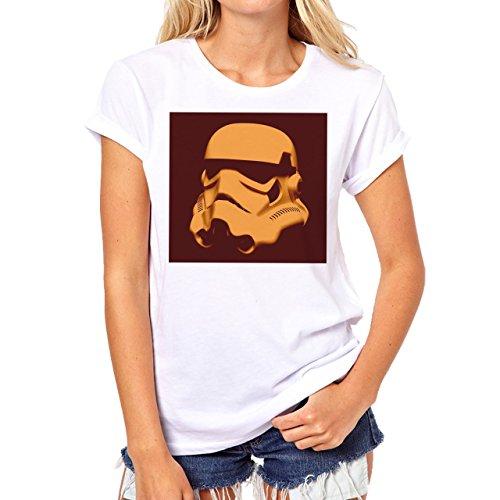 Star Wars Battlefront Jedai Yedi Game We Shall Never Die Background Damen T-Shirt Weiß