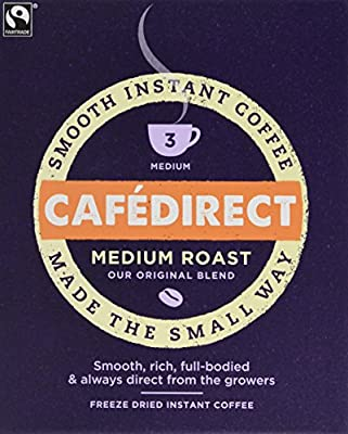 Cafedirect Fairtrade Freeze Dried Instant Coffee Sticks (Pack of 250) by CafeDirect