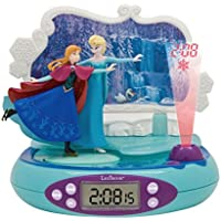 Frozen - Radio Despertador con proyector (Lexibook RP500FZ)