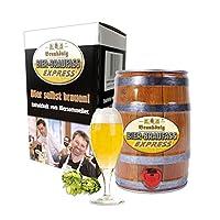 Avec le kit de brassage Braukönig  et le «Beast Booster», la préparation de votre bière ne prend plus que 30-45minutes environ.Le bière est prête à être dégustée après 7. Le cadeau parfait pour elle et pour lui, ou pour avoir votre propre bière à ...
