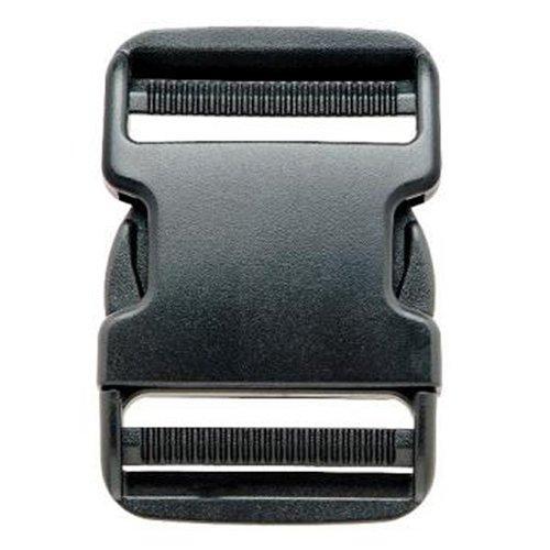 51bLC93vCqL. SS500  - Prym 50 mm Clip Plastic Buckles, Black