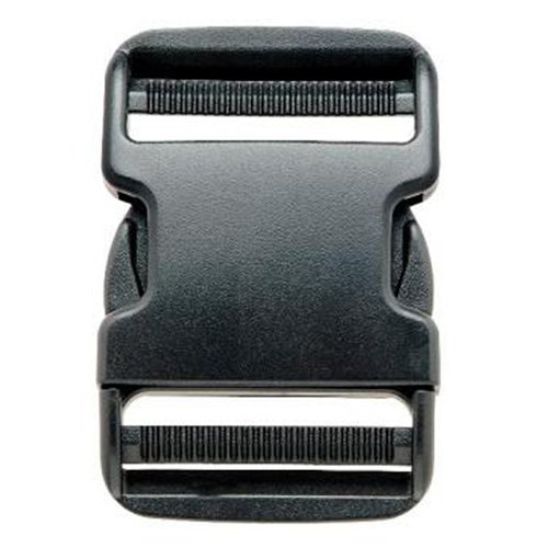 Prym - Buckle closure (50 mm, plastic), black
