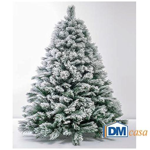 Albero Di Natale Da Interno Montana Innevato 240 Cm Negozio Di