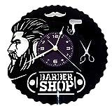 Instant Karma Orologio in Vinile da Parete LP 33 Giri Idea Regalo Vintage Handmade - Parrucchiere Capelli Barba Salone Bellezza Barbiere Uomo Barber Shop