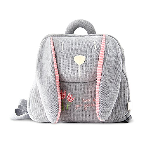 """BELK """"Faccione"""" Serie Sonnellino cuscino delicatamente sacchetto di scuola dei bambini più piccoli di viaggio Zaino giocattolo borsa per l'asilo del ragazzo della neonata del coniglio / orso / cane / Monkey - 12 pollici"""