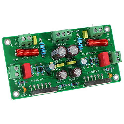 LaDicha Lm3886 Hifi Tf Stereo Verstärker Montiert Verstärkerplatine 68W + 68W 4Ohm 50W * 2 / 38W * 2 8Ohm