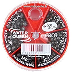 WATERQUEEN - Boîte De Plombs Water Queen 6 Cases Gm