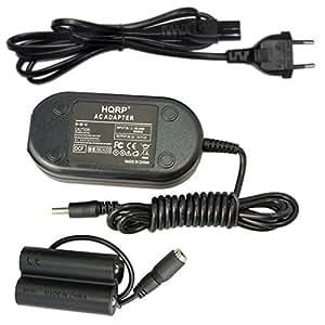 HQRP Adattatore di CA e Accoppiatore di CC per Fuji Fujifilm Finepix S2800HD, S2900, S2940, S2950, S2980, S2990, S3200, S4200, S4250, S4300, S4400, S4500, S4500HD