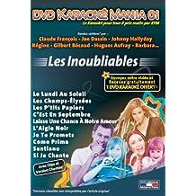 DVD Karaoké Mania 01 Les Inoubliables