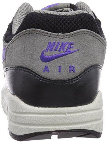 Nike Nike Air Max 1 Essential - Scarpe da ginnastica da uomo Multicolore (Black/Hyper Grape)
