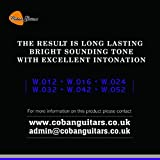 Coban Guitars SCG2Extrémité à boule Cordes Cordes guitare acoustique phosphore bronze 12-52