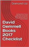 David Gemmell Books 2017 Checklist: Reading Order of Drenai Saga, Greek Series, Hawk Queen Series, Jon Shannow Books, Rigante Series, Troy Series and List of All David Gemmell Books
