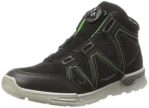 Ricosta Unisex-Kinder Rocco Hohe Sneaker, Schwarz, 00035 EU