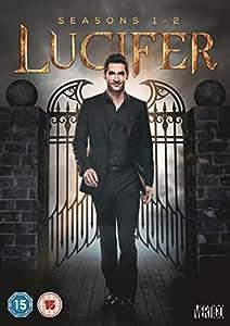 Lucifer - Seasons 1-2 (Anglais) [Import italien]: DVD