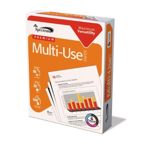 GP Spectrum Premium vielseitig einsetzbares Papier, 21,6x 27,9cm Buchstabe Größe, 96Extra Helle Weiß, 20lb, von 500Blatt (999851r)