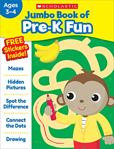 Jumbo Book of Pre-K Fun Workbook por Scholastic Teaching Resources