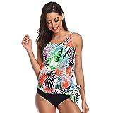 9ebcbdf963a8 ZatRuiZE Costume da Bagno Donna Tankini Stampato Swimwear Plus Size  Beachwear Brasiliana Costume Costumi A Due