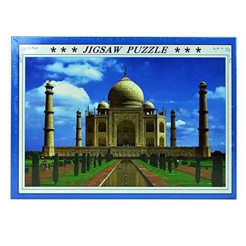 Gifts 4 All Occasions Limited SHATCHI-1380 Taj Mahal rompecabezas de 1000 piezas para niños, cumpleaños, Navidad, Multi