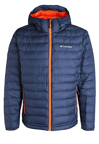 Columbia Powder Lite Piumino Sintetico - Blu (Collegiate Navy) - XL