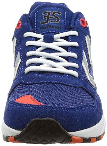 Blu Blu Hummel Basse Da limoges 3s Scarpe Unisex Ginnastica Sport rfZnr