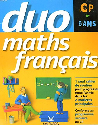 Le cahier duo maths/français CP