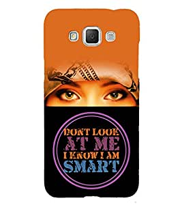 I Know Iam Smart 3D Hard Polycarbonate Designer Back Case Cover for Samsung Galaxy Grand Max G720